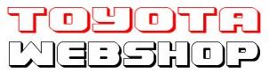 Toyota alkatrész webshop
